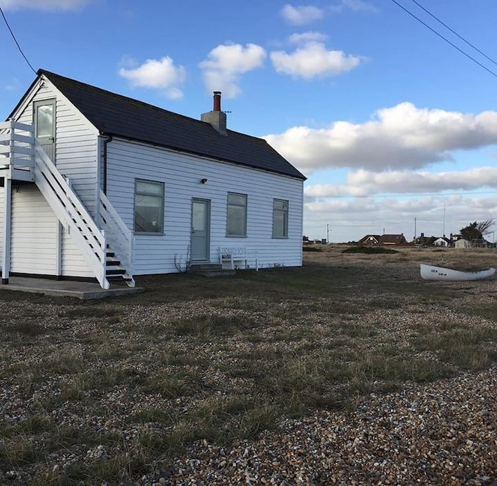 Restored Dungeness cottage full of character.