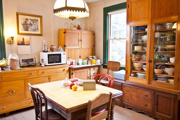 Owner's kitchen - you may share it for cooking, reading.
