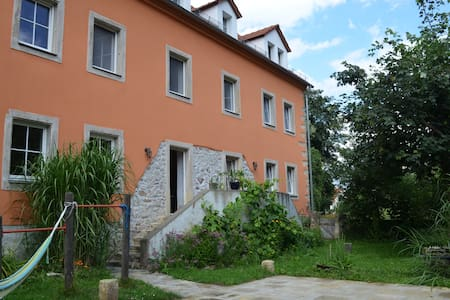 Bright room in family home 30 mins from Dresden
