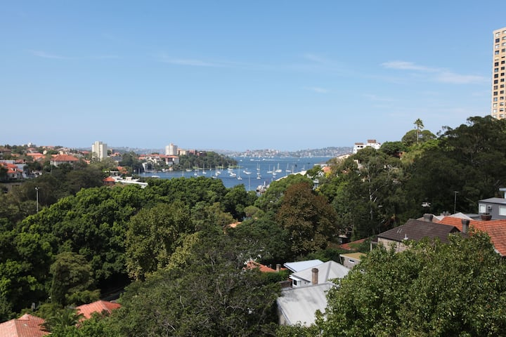 North Sydney Unit With A Water View