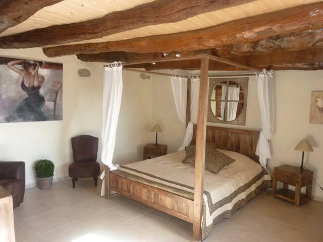 chambre d'hote ardeche verte - Plats - Bed & Breakfast
