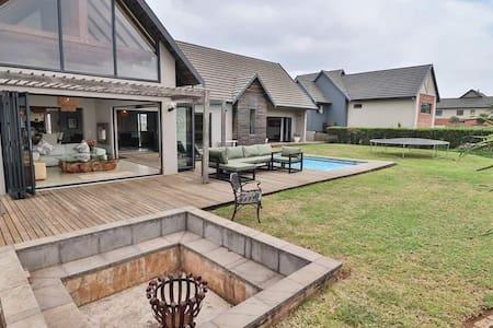 Beautiful family home on gorgeous golf estate..