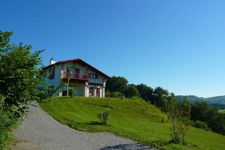 CHARMING BASQUE VILLA ON 6000 M2 - Saint-Pée-sur-Nivelle