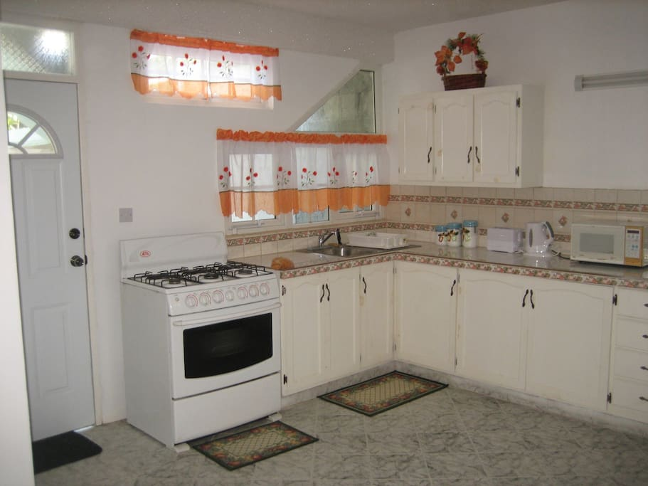 Kitchen area.