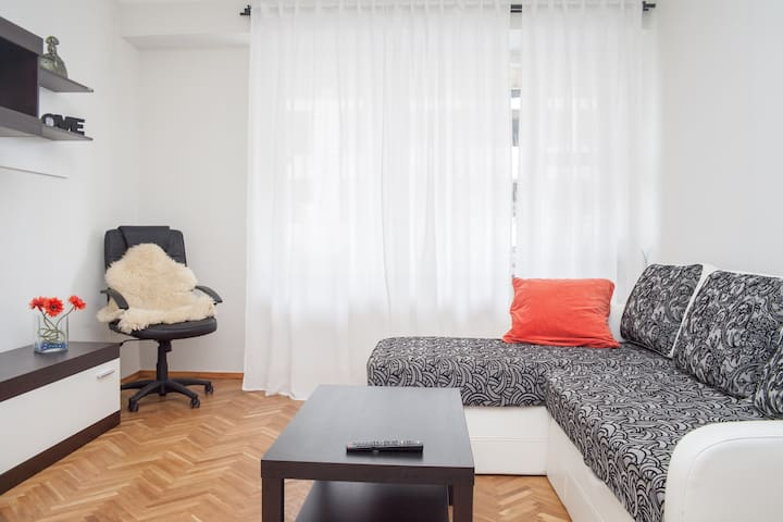 Nice two-room apartment in center - Chişinău - Apartamento