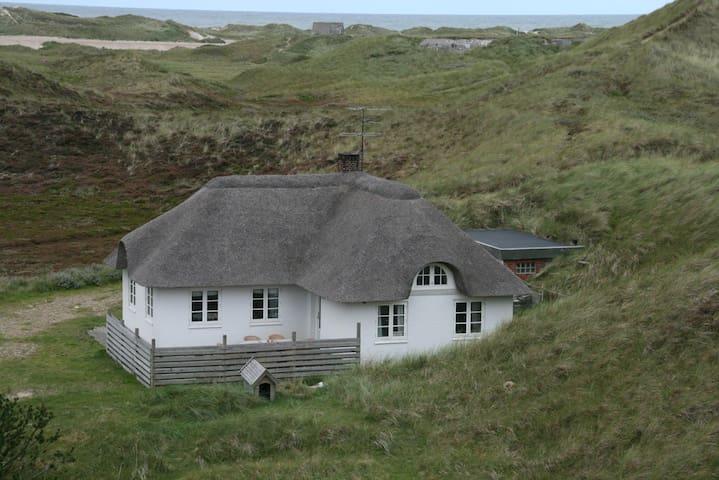 Romantisk Stråtægt Sommerhus Idyl - Ringkobing - Mökki