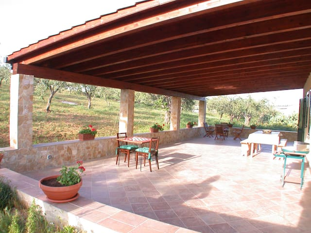 relaxing villa with beautiful view - Sciacca - Villa