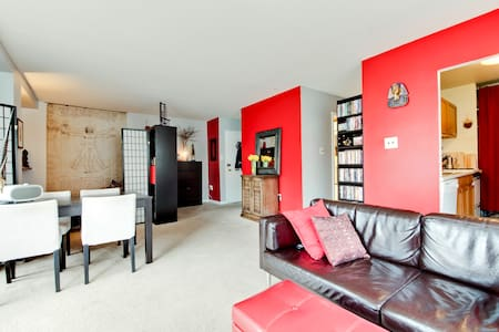 Spacious 1BR in the heart of Dupont