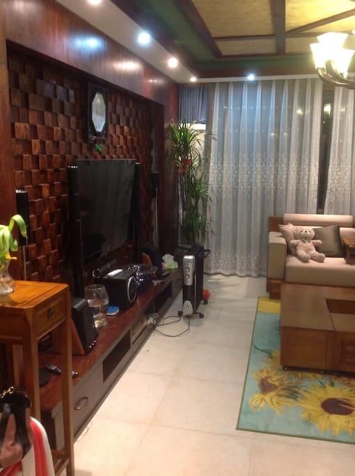 超大温馨客厅