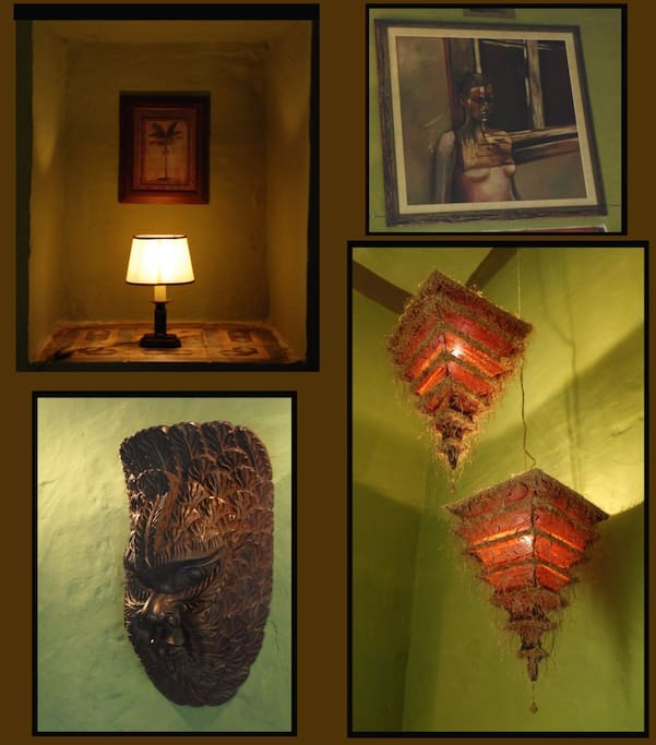 Green Room. Dream Weaver House