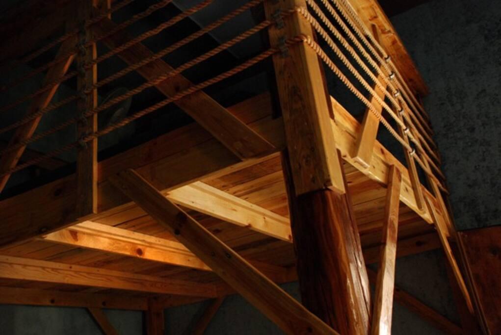 Blue Room, Super King Platform Bed, Dream Weaver House