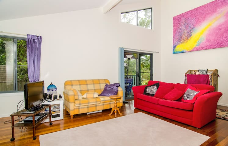 Private spacious room, incl. Bthm - Byron Bay - Bed & Breakfast