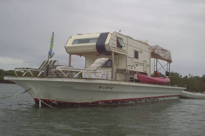 Floating Camper at Anchor Near Key West - Ки-Уэст - Лодка