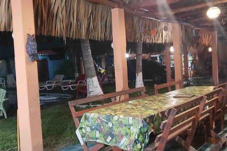 Casa de playa en Sipacate