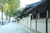 Unhyungung Palace-4min walking distance from Dasom