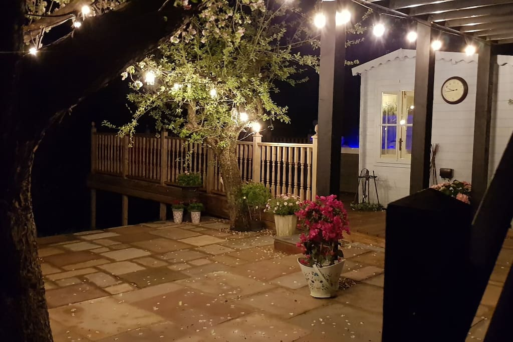 New for 2018 - patio area
