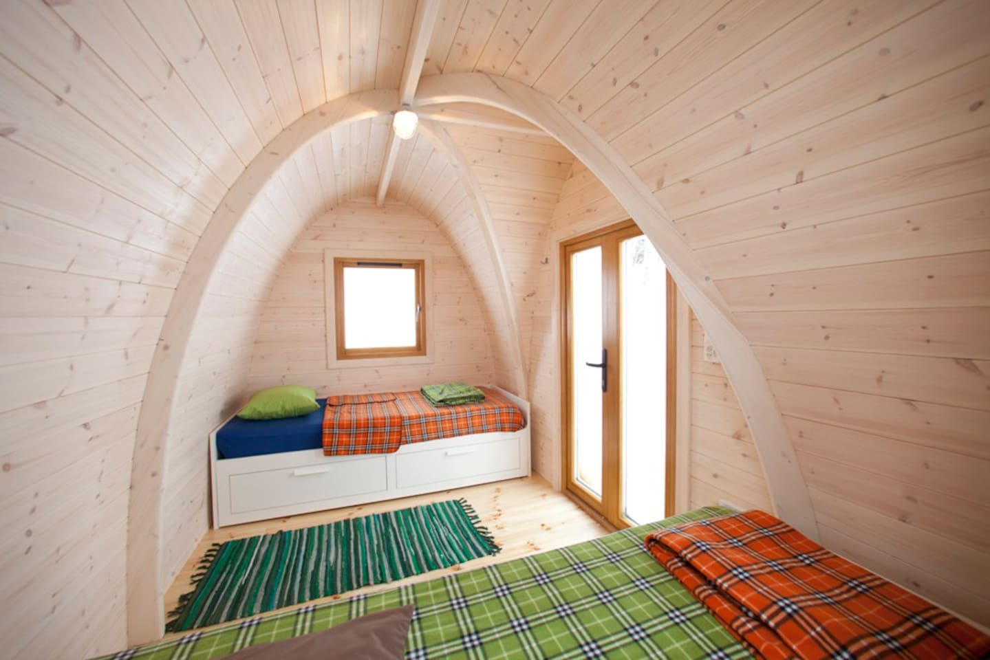 podhouses u2013 stay in wooden igloo igloos for rent in goldingen