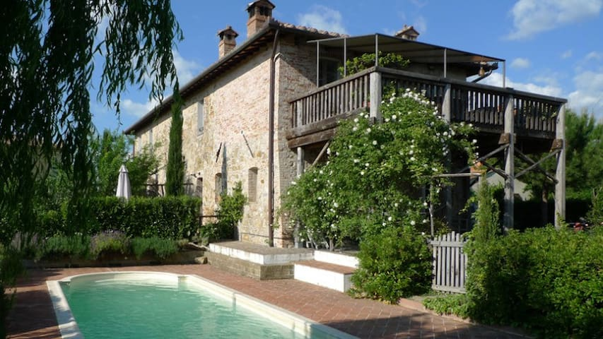 Luxury Apartment with Private Pool - Paciano - Byt