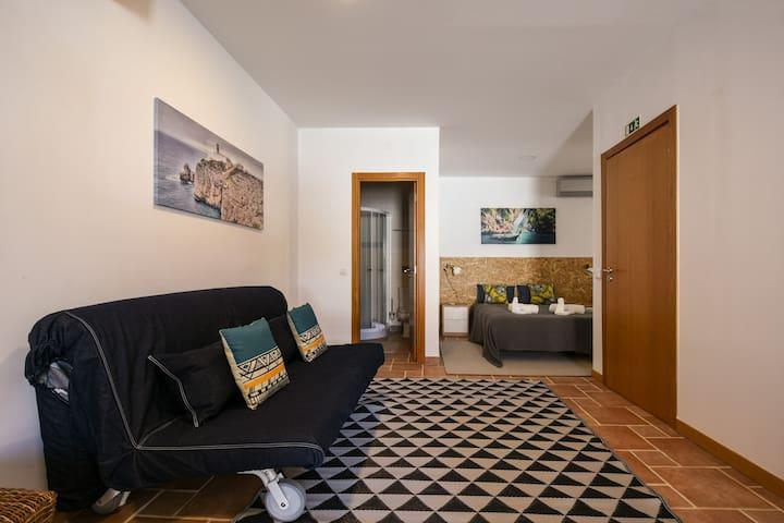 Pé na Areia - Guest House - Estudio