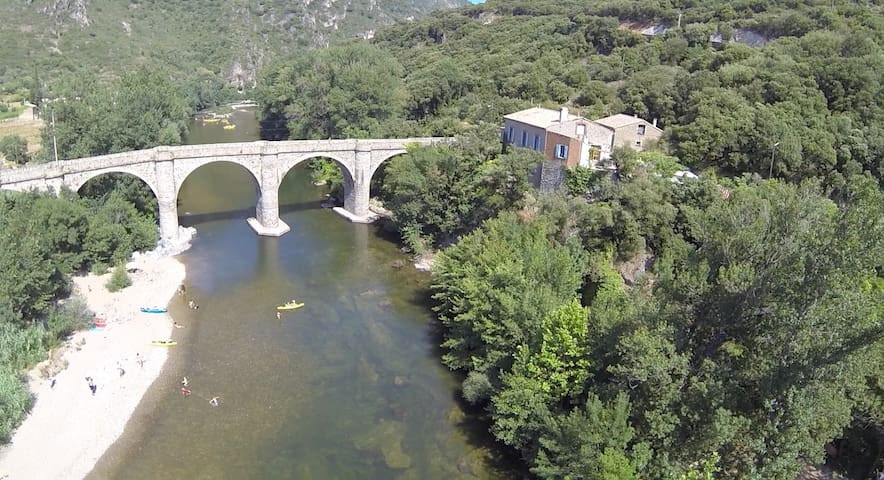 Stunning river gite, nr Roquebrun - Hérault - Maison