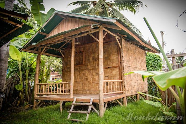 Cozy Bamboo Bangalows in Luang Prabang