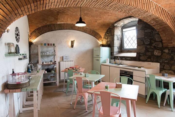 Antico mulino nel centro storico di Bolsena