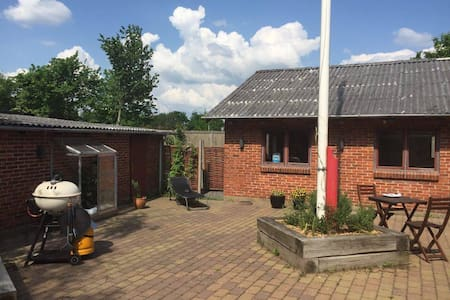 Cozy room with private kitchen and bath - Ringkøbing C