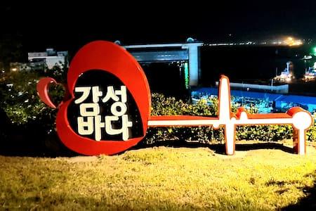 감성바다펜션_쟈스민(4인실)온돌방