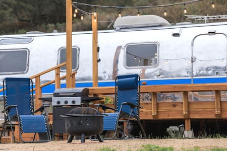 Isolated Farmstay in a 1973 Airstream.