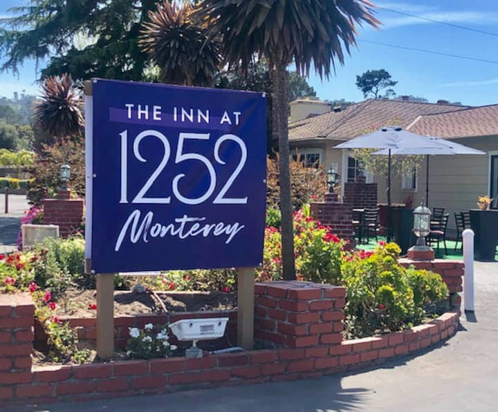 Centrally located in Monterey.