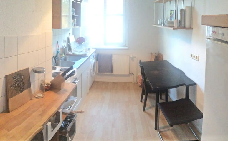 Kitchen, coffee, tea, washing machine