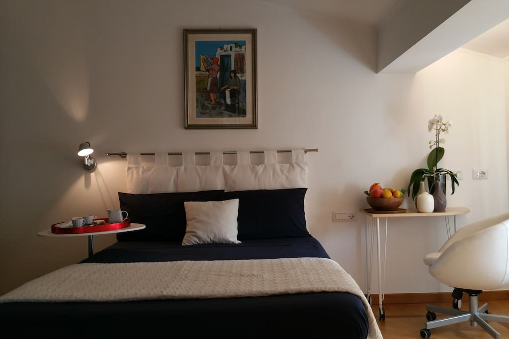 Il confort della camera da letto
