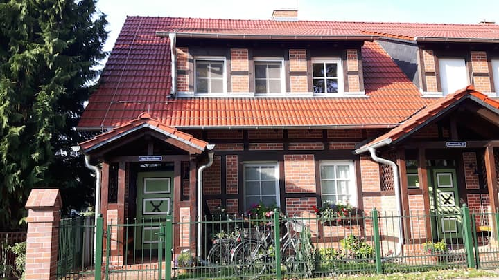 Spreewald 2er-Ferienappartement am Backhaus