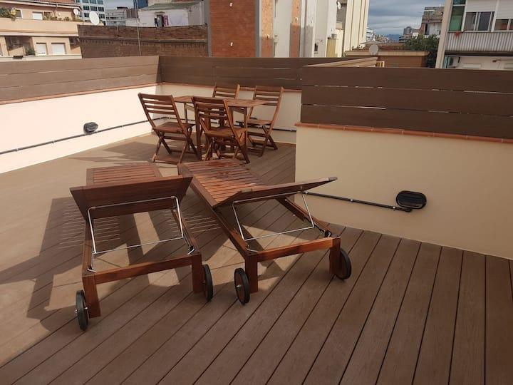 Piso en planta baja con Terraza privada