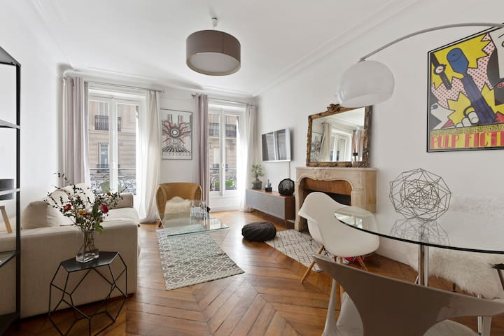 Luxurious apartment Grands Boulevards/Madeleine !