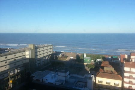 Depto 2 amb. sobre peatonal con vista al mar. - Appartement