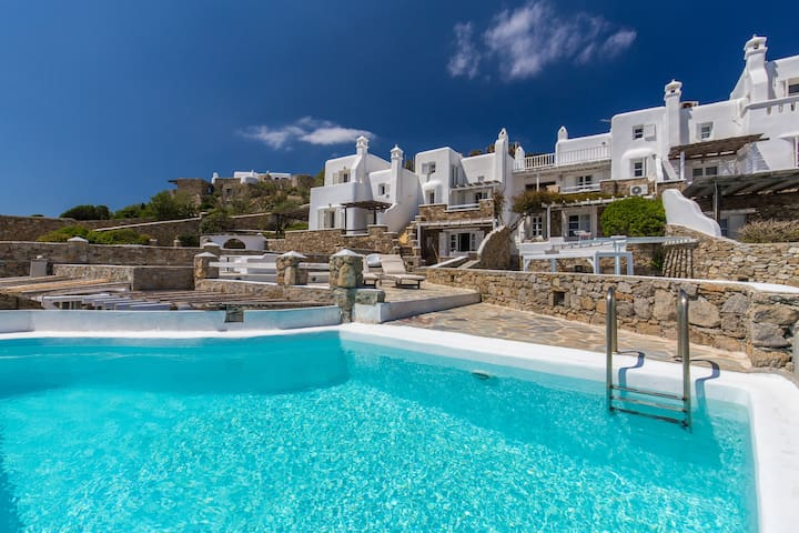 Villa ''Chantall''- Panoramic View, Private Pool
