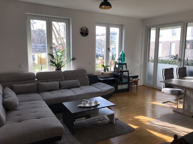 luxurious flat @Filmpark Babelsberg with garden