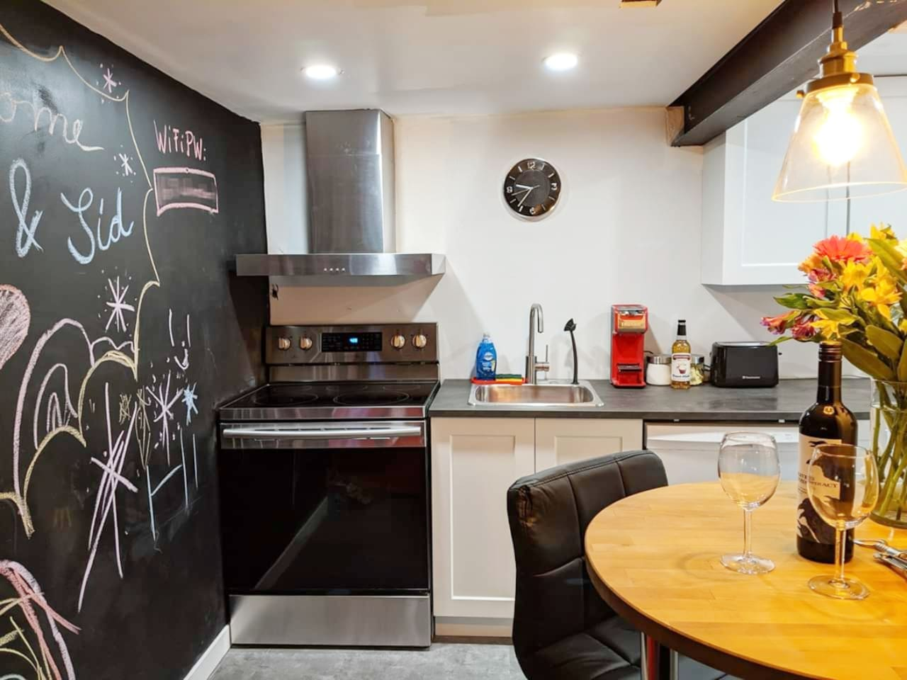 """""""it's a fully equipped apartment for stays of any duration, as it comes with a complete kitchen including washing machine/dryer and dish washer"""" - Guest"""
