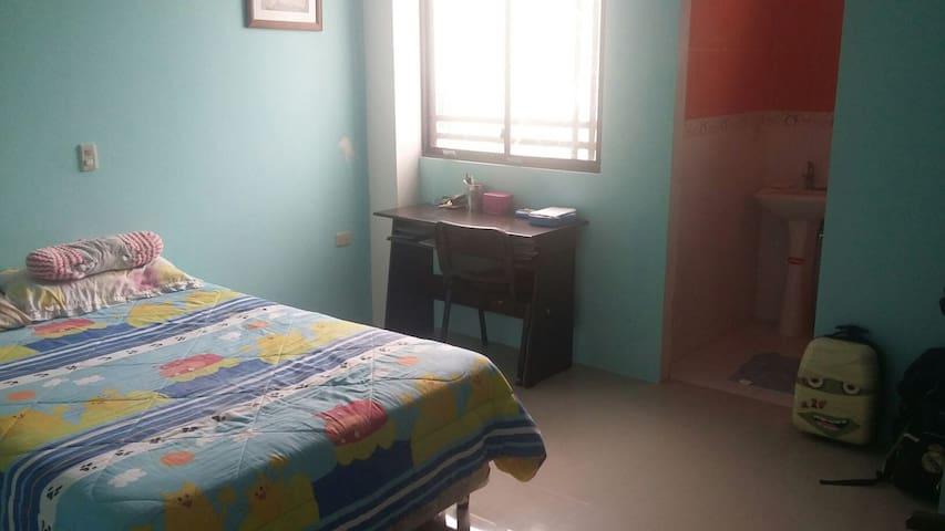 Habitacion con baño privado - Portoviejo