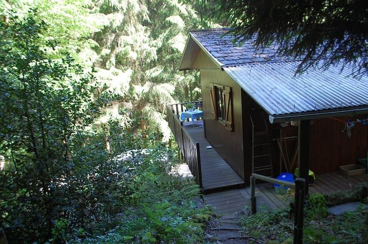 Wooden Cabin - Hastiere - Mökki