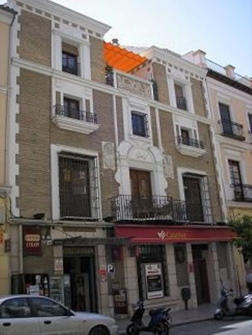 Fachada Hospederia Colon Antequera