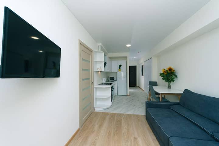 Двухкомнатная квартира, для семейного отдыха