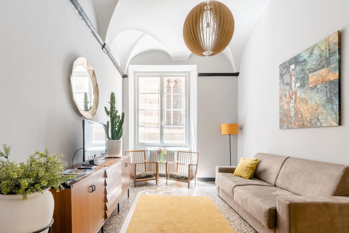 Appartamento stile vintage con vista sul Duomo