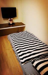 台北地铁1分钟; 适合1人居住的私人房间TV & WiFi