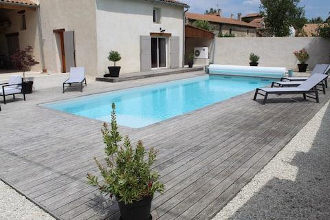 Maison proche de La Rochelle et du Marais Poitevin