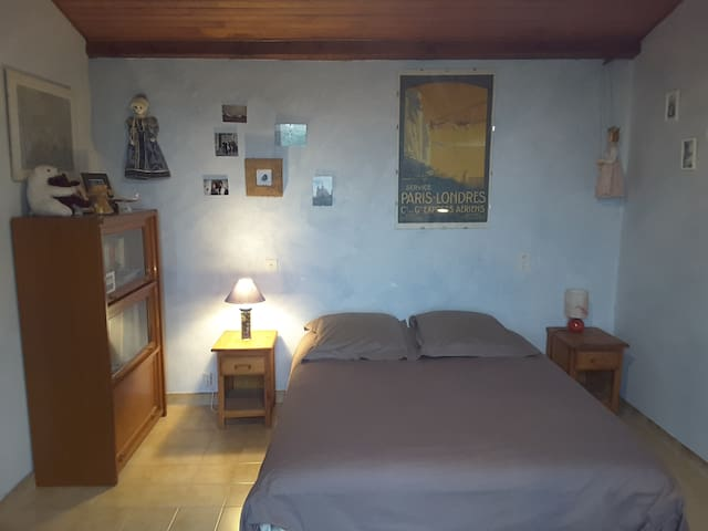 Chambre dans villa individuelle, cadre paisible - Méjannes-lès-Alès