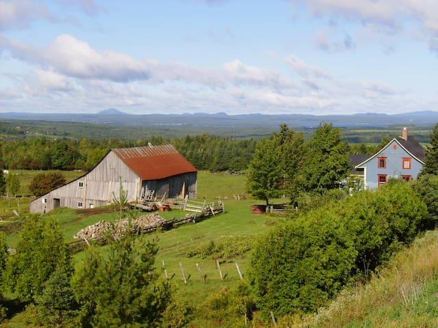 Le chalet le Haut Lieu au Quebec - Stratford