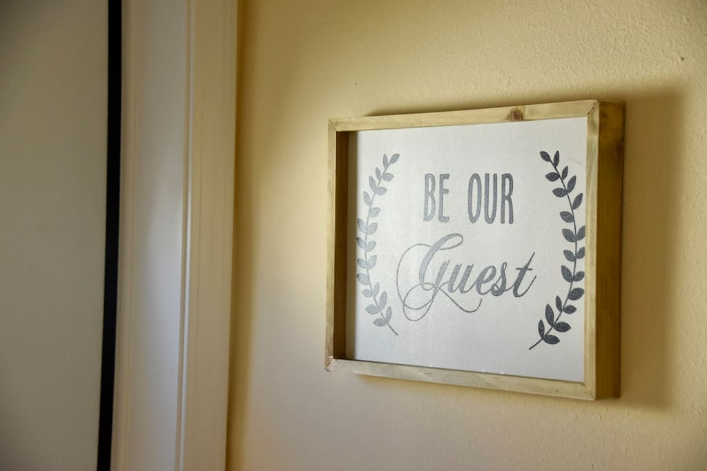 Be our guest not a your typical rental.. We  love people and want you to feel at home! If you get there and realize your forgot that one thing, toothbrush, paste, shampoo-holler at us, we will do our best to get it to you!