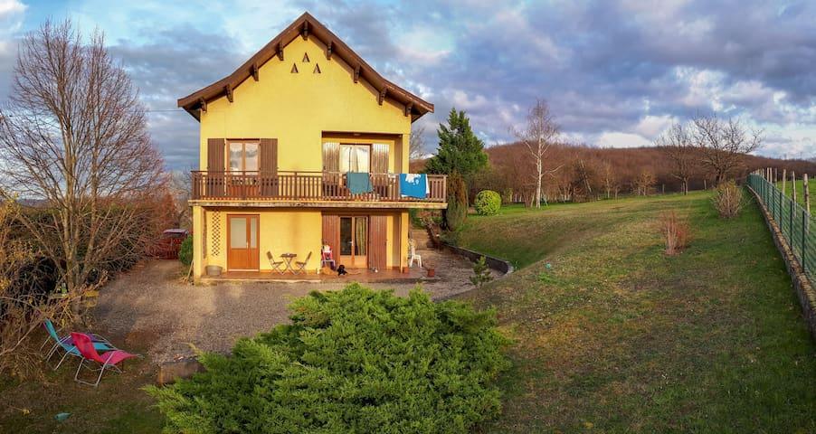 La maison aux coccinelles : paisible et nature